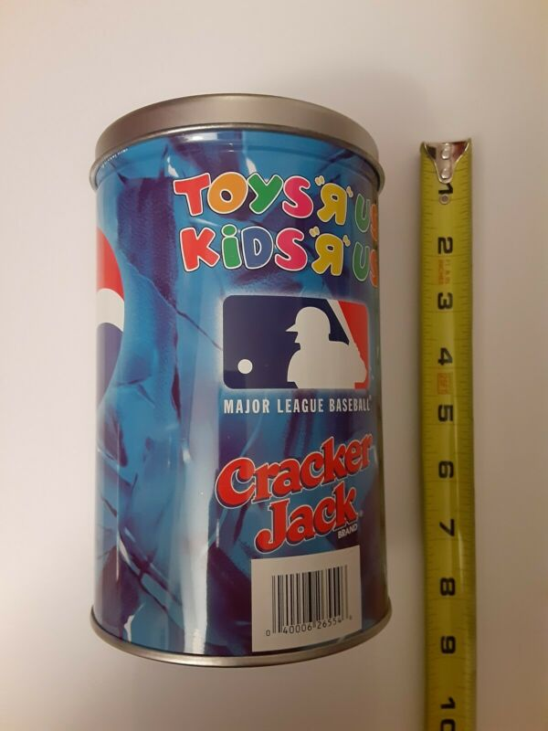 """Pepsi Toys""""R""""Us Tin Bank Canister /1993 Good Condition"""