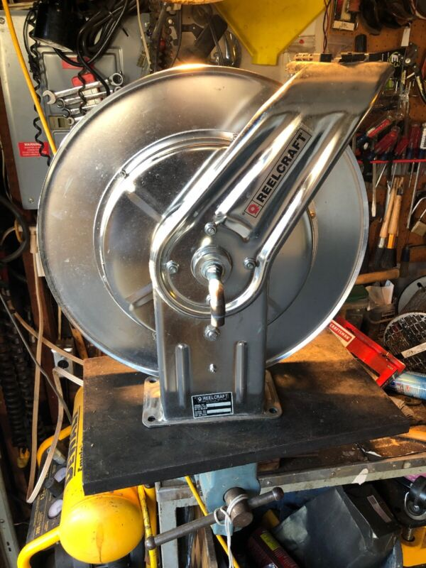 REELCRAFT Model 6Z785 Stainless Steel Hose Reel FREE SHIPPING!