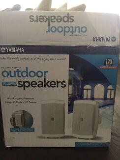 Yamaha outdoor speakers brand new in box