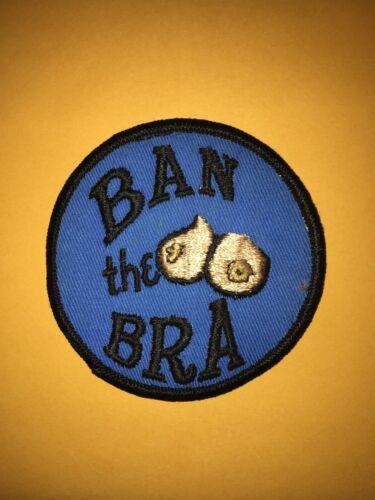 Vintage Ban the bra patch