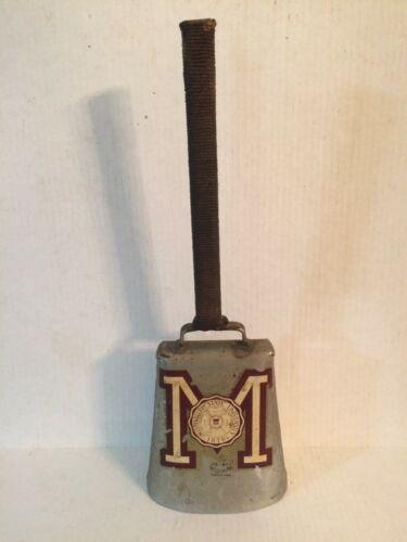"""Vintage Mississippi State University Cowbell Zil-Bel 16 3/4"""" Tall Pi Kappa Alpha"""