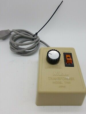 Nikon Thn Microscope Illuminator Power Supply Model Thn 3-7v