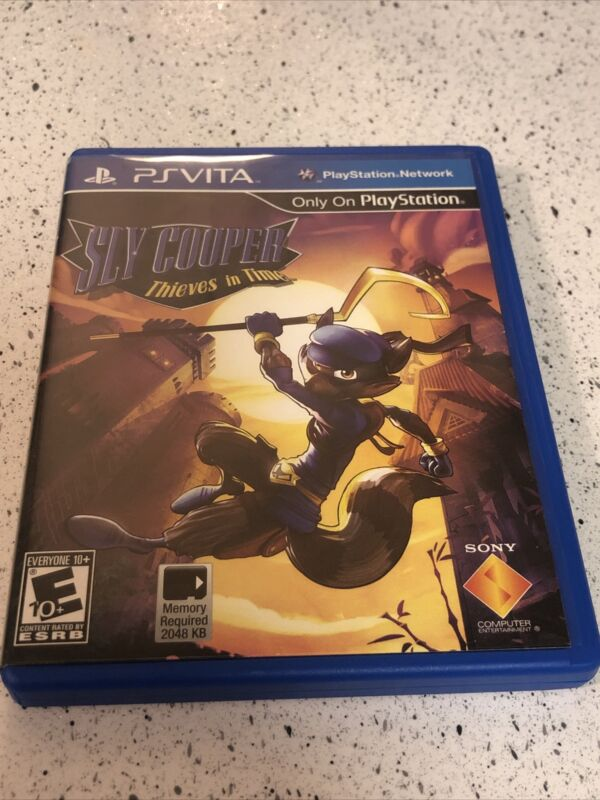 Sly Cooper: Thieves in Time (Sony PlayStation Vita PS Vita, 2013) Complete Game