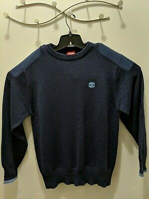 Oakley knit sweater with elbow and shoulder patches Sz Large  EUC