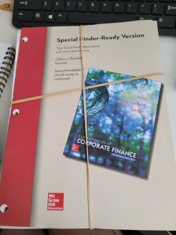 Fundamentals Of Corporate Finance Eleventh Edition