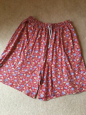 Laura Ashley Cotton Shorts Size 14-16 Vintage