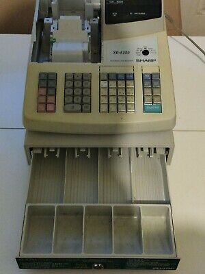 Sharp Xe-a202 Cash Register