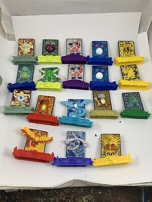 Pokemon Burger King Meal Toys 2000 Collectible Power Cards Set of 27!