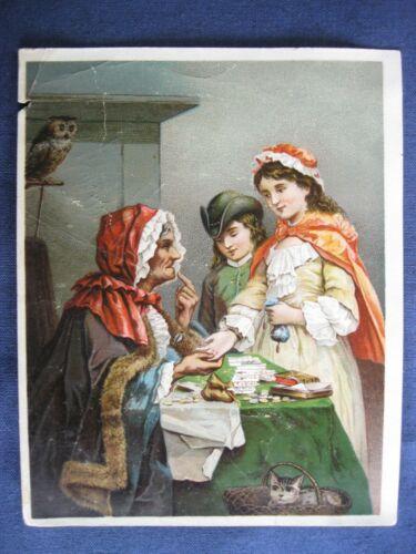Victorian Trade Card B.H. Mowers Bengal MI Dr Jayne