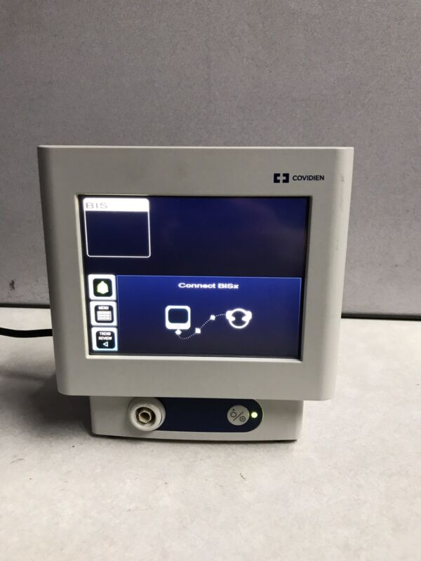 Covidien BIS Bispectral Monitor 185-0151 With 194-0405 RevC Monitor