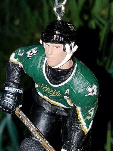 Mike Modano Dallas Stars Hockey NHL xmas TREE ornament HOLIDAY vtg GREEN jersey