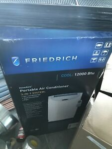FriedRich 12000 btu 3 in 1 air conditioner/ dehumidifier / fan