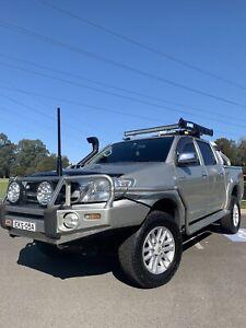 2010 Toyota Hilux Sr5 (4x4) 4 Sp Automatic Dual Cab P/up