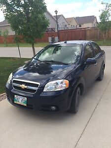 DARK BLUE 2010 CHEVROLET AVEO