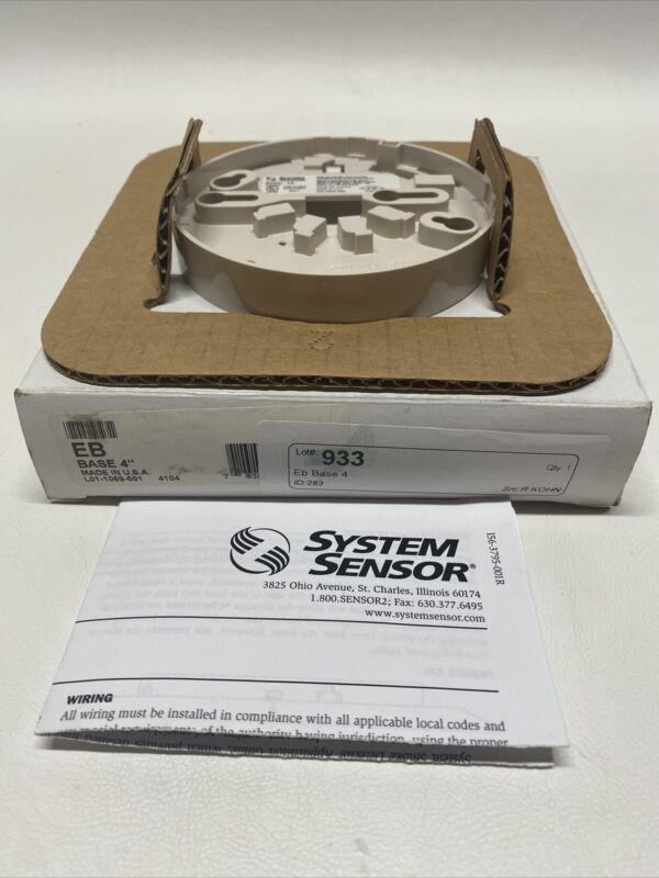 NEW System Sensor EB Base
