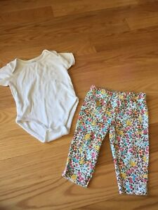 5 outfits size 0-3 months girls 11 pieces