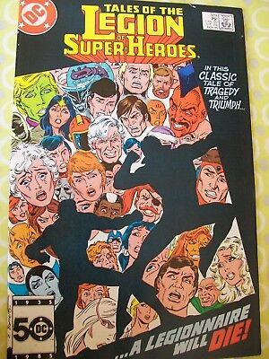 Tales Of The Legion of Super-heroes 329 DC 1985 Levitz Giffen Lightle Mahlstedt