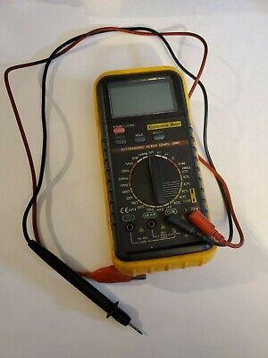 Stroke Es-585 Automotive Multi Meter Tested