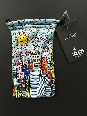 New York City Bag (James Rizzi: Art Bag / Mikrofaser Beutel