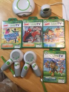 Leap tv and 4 games