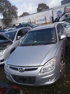 NOW WREAKING HYUNDAI I30 SILVER COLOR ALL PARTS 2008 Dandenong South Greater Dandenong Preview