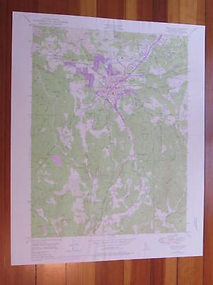 Grass Valley California 1976 Original Vintage USGS Topo Map