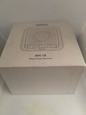 AVANTEK White Noise Sound Machine, 20 Non-Looping Soothing Sounds for Better