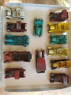 VINTAGE MATCHBOX MODELS OF YESTERYEAR AND OTHERS LOT OF 13