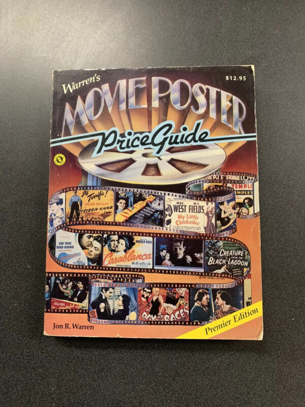 Movie Poster Price Guide Book 1986