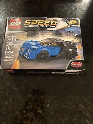 Lego Speed Champions 75878 Bugatti Chiron Supercar Set SEALED NEW