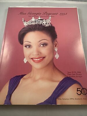 1994 Miss America Georgia Beauty Pageant Program