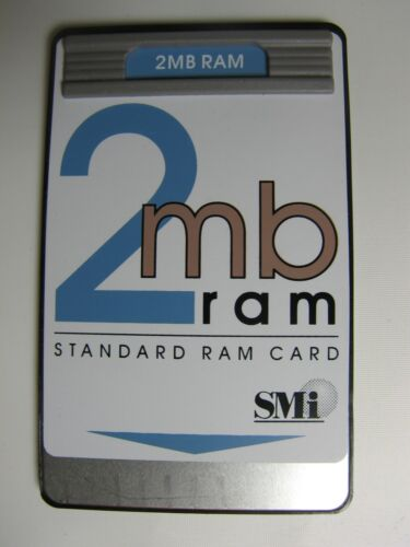 SMI 2MB Standard RAM  Card For the HP 48GX Calculator