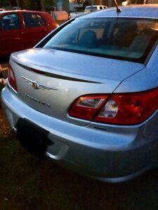 Chrysler sebring 2008, rien à faire dessus