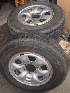 Wheels and tyres Manoora Cairns City Preview