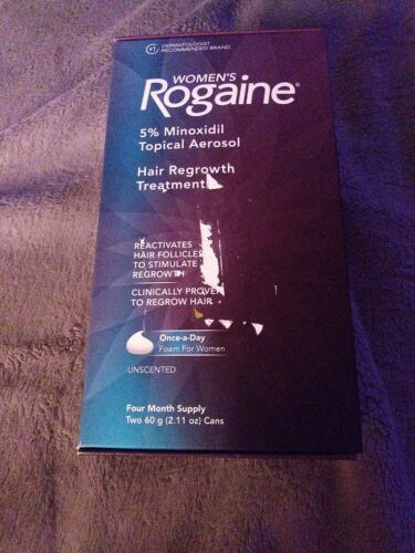 Womans Rogaine Foam 4 Month Supply Exp 1-1022 - $25.00