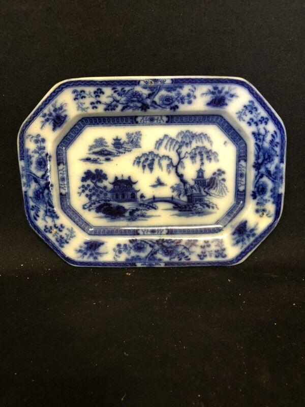 10 1/4 Hindustan Flow Blue Platter