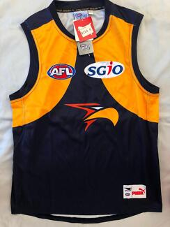 2017 West Coast Eagles Mens Home Guernsey Brand New W/ Tags
