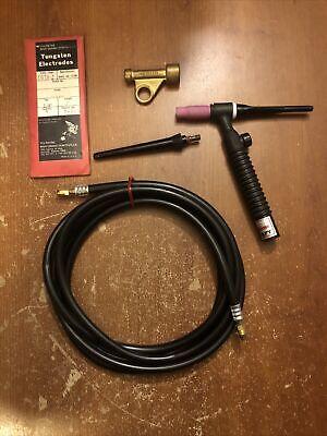 Weldcraft Tig Torch Hose Tungsten Electrodes Lot Usa