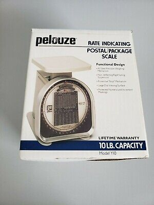 Pelouze 10lb. Postalpacking Scale 1991 Model Y10in The Original Box