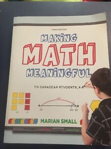 Making math meaningful text book