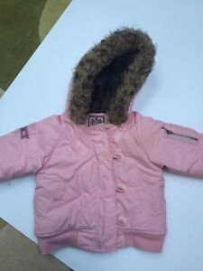 Toddler- Baby Girl JUICY COUTURE winter jacket size 24