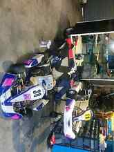 Go kart package, Kosmic jnr kart, Arrow cart with rotax, trailer Llanarth Bathurst City Preview