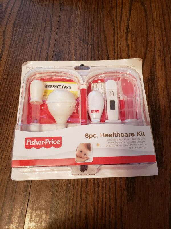 Fisher Price 6pc Healthcare Kit Includes Travel Case