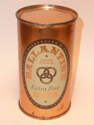 12oz Ballantine Extra Fine Beer Flat Top ** Clean Can !!!  **