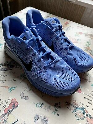 Nike Womens Lunarglide 7 Trainers Blue UK 9.5