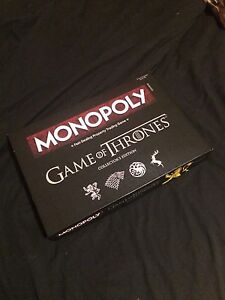 Game of Thrones Monopoly: Collectors Edition.