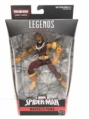 """Marvel Legends Puma 2019 Kingpin BAF wave Spider-Man series Loose 6"""" 1:12 Fodder"""