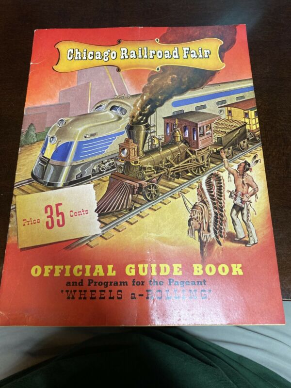1948 Chicago Railroad Fair Official Guide Book
