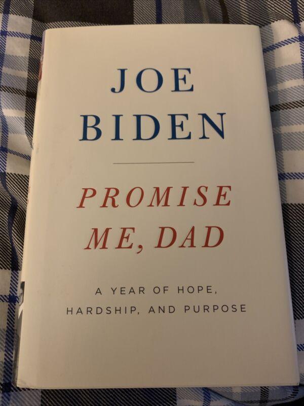 "Joe Biden Autographed Signed ""Promise Me, Dad"" Book 1st Edition"