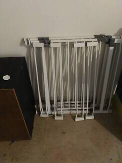Baby Gates x2 with extension pieces Near New